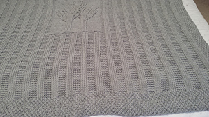 Ravelry: Banyan Love and Double Love Baby Afghan/Lapghan
