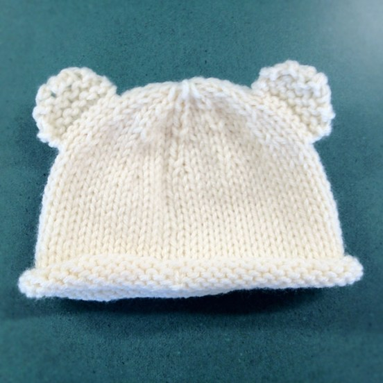 Baby Hat Free Knitting Patterns for Newborns - Crafty Tutorials