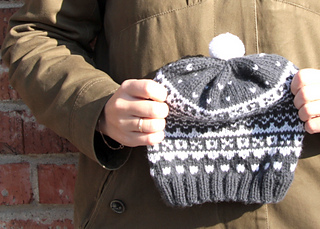 Ravelry Simple Fair Isle Hat For Children Pattern By Olya