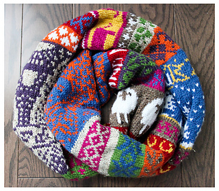 Ravelry My Favourite Things Infinity Scarf pattern by