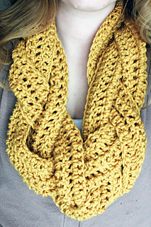 Braided crocheted scarf free pattern