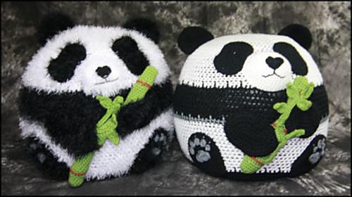 panda bean bag chair forza 6 gaming ravelry pattern by yarn twins 2015 yarnovations