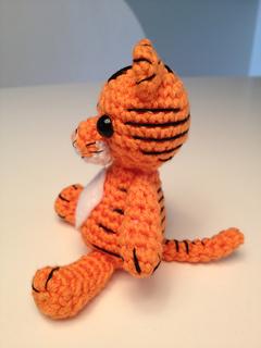 Ravelry Amigurumi tiger pattern by Justyna Kacprzak