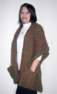 Ravelry: Super Simple Shaped Shawl pattern by Elizabeth ...