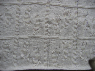 Ravelry: Baby Footprint Blanket pattern by Catrina Lawrence