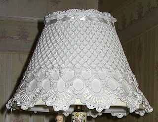 Ravelry Lovely Lampshade Cover Pattern By Jo Ann Maxwell