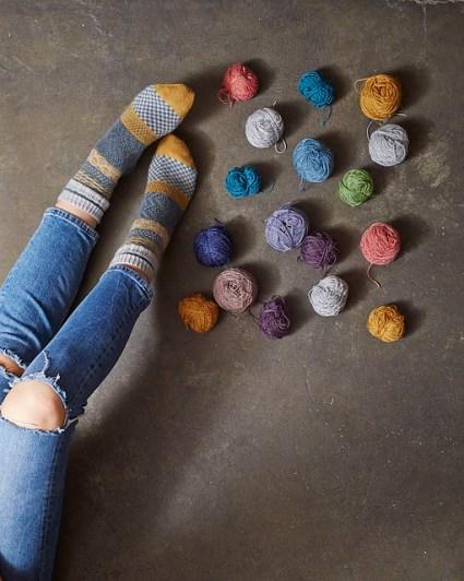 Twylla af Rachel Coopey fra hendes nye bog Socks Yeah! Vol 1