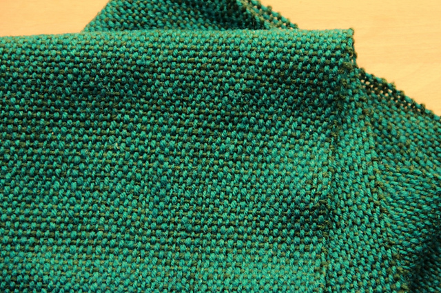 deep sea swamp thing scarf edges