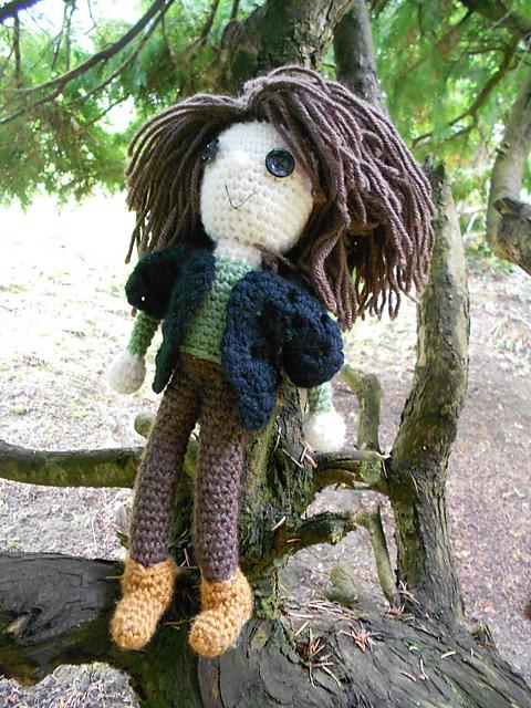 Amigurumi Katniss Free Crochet Pattern Once Upon A Yarn