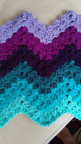 Ravelry Vintage Rippling Blocks pattern by Angela Maria