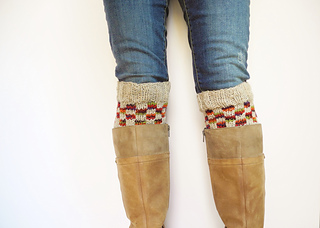 Boot cuffs free knitting patterns. List of free knitting patterns to create boot cuffs or also known as boot toppers. Great for fall and winter.