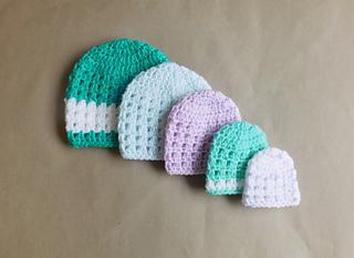 Crochet Baby Hats For Newborns Free Patterns Crafty Tutorials