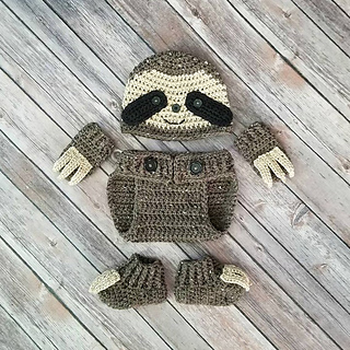 baby sloth costume outfit