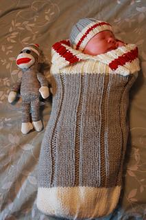 Ravelry Work Sock Baby Monkey Snuggler Pattern By