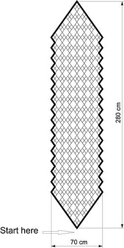 Ravelry: Argyle Stole pattern by Anna Kotsolainen