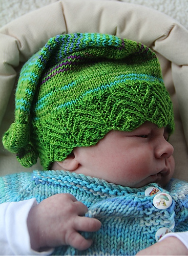 Elf Baby Hat by Robynn Weldon