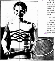 Ravelry: A Two-Ply Tennis Jumper pattern by The Western Mail