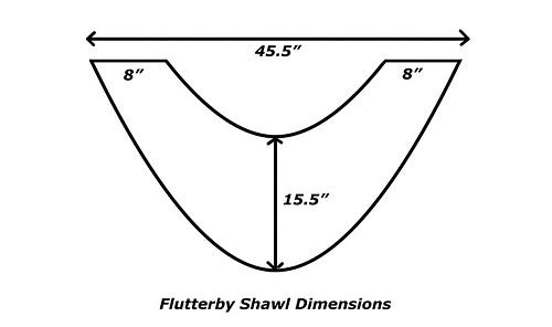 Ravelry: Flutterby Shawl pattern by Amanda Clark