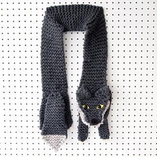 Ravelry: Werewolf Scarf pattern by Louise Walker