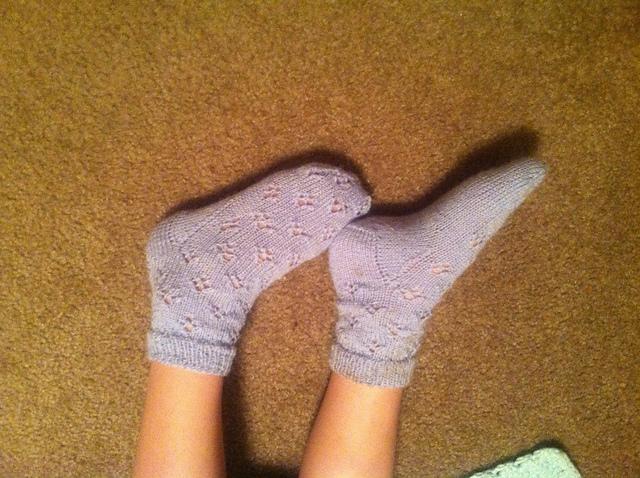 Tiny little feet!