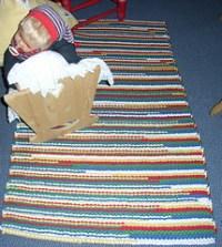 Ravelry: Lefty  the sock yarn leftover carpet :) pattern ...