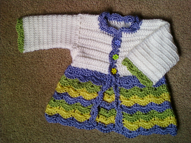Easter Baby Sweater