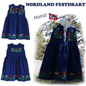 Ravelry: Nordland Festdrakt Pike pattern by Lill C Schei