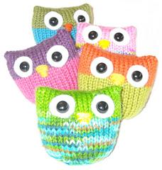 Free baby owl knitting pattern