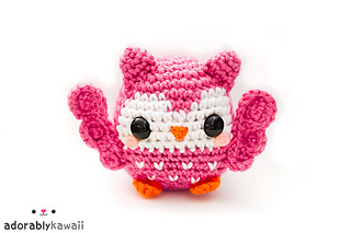Cute crocheted owl pattern