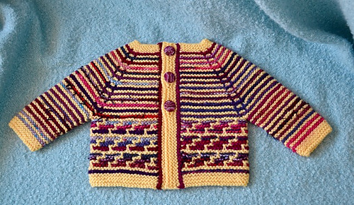 Limited Free #knit retro baby cardigan by Fiona on @Ravelry. Link here: http://ow.ly/Yjcr3