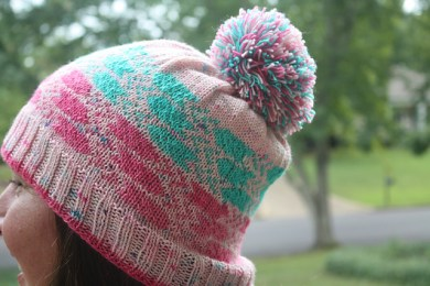 City Lights Beanie by Snapdragon Crafts