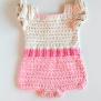 Ravelry Crochet Baby Romper Pink Flamingo Pattern By