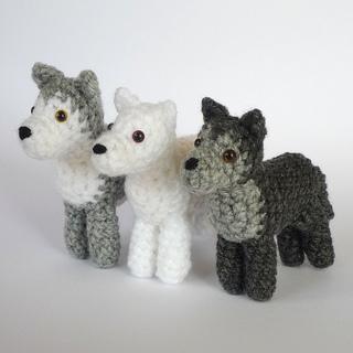 Ravelry Little Wolf pattern by Kati Galusz