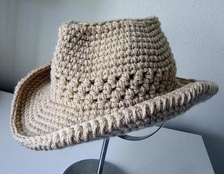 cowboy hat pattern # 74