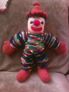 Ravelry Yoyo Clown pattern by Helen Free