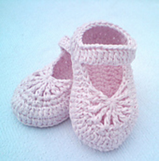 crochet baby booties diagram expanded circular flow ravelry yara simple shoes pattern by atelier