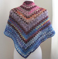 Ravelry: Easy-Crochet Shawl pattern by Kathy North