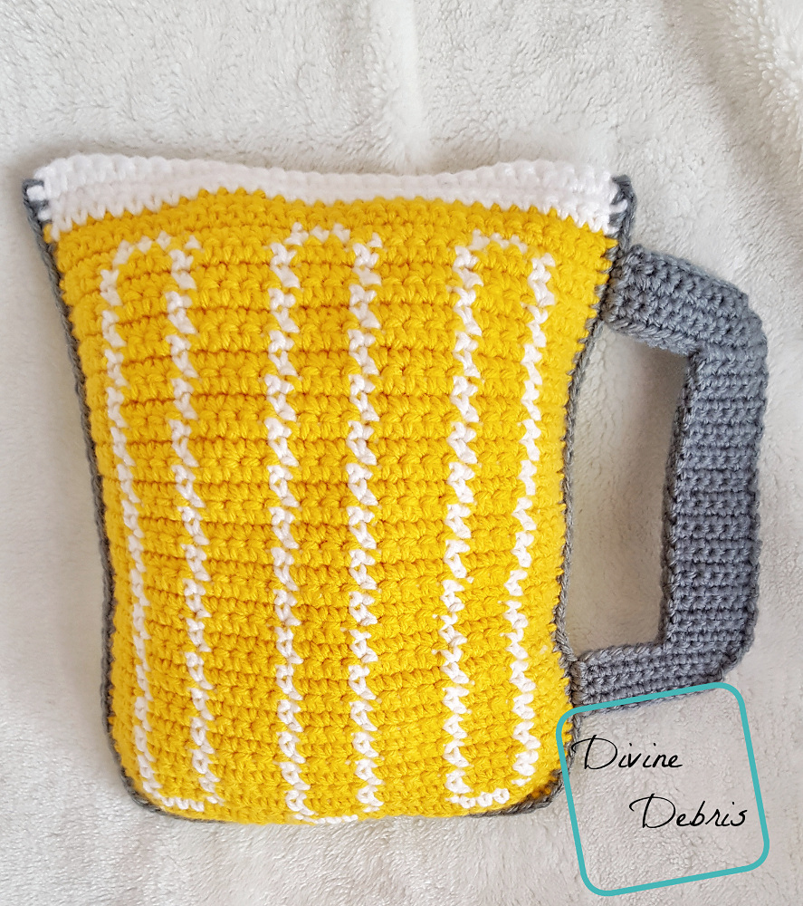Mug of Beer Amigurumi Pattern