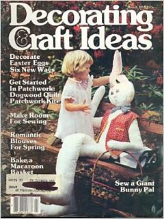 Ravelry Decorating  Craft Ideas Magazine March 1980  patterns