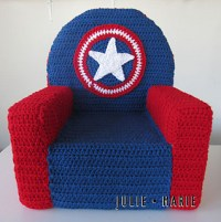 Ravelry: Superhero Toddler Chair pattern by Julie Trimpe