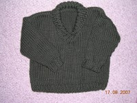 Ravelry: Shawl-Collared Sweater pattern by Debbie Bliss