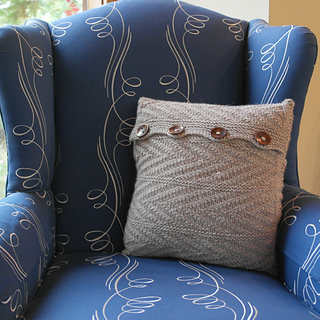 Ravelry Armadillo Pillow pattern by Stephanie Cunningham