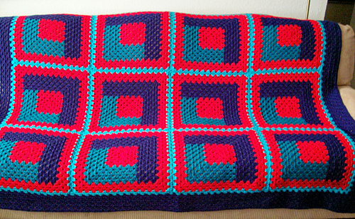 crochet sofa cover patterns electric reclining costco ravelry: warm & cozy log cabin afghan quilt pattern by d ...
