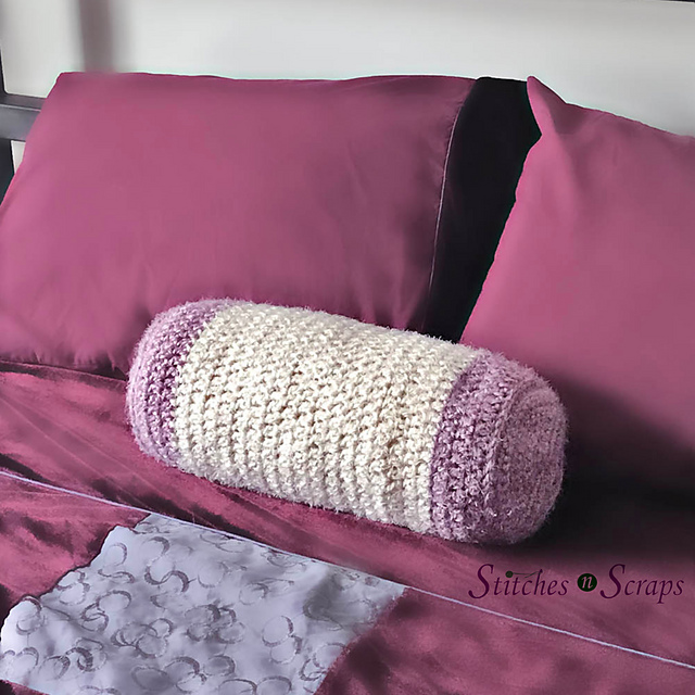 hygge neck roll bolster pillow pattern by pia thadani
