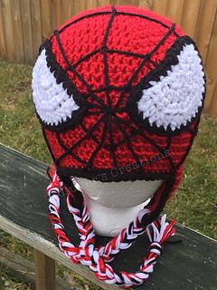 Crochet Spiderman Hats : crochet, spiderman, Ravelry:, Spide, Crochet, Pattern, Rachelle, Bowman