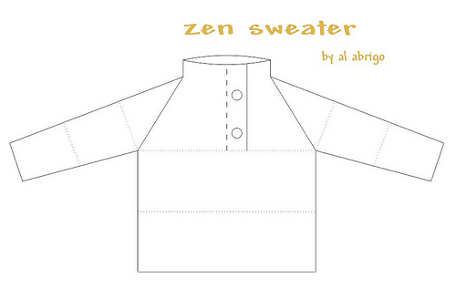 Ravelry: zen sweater pattern by al-abrigo
