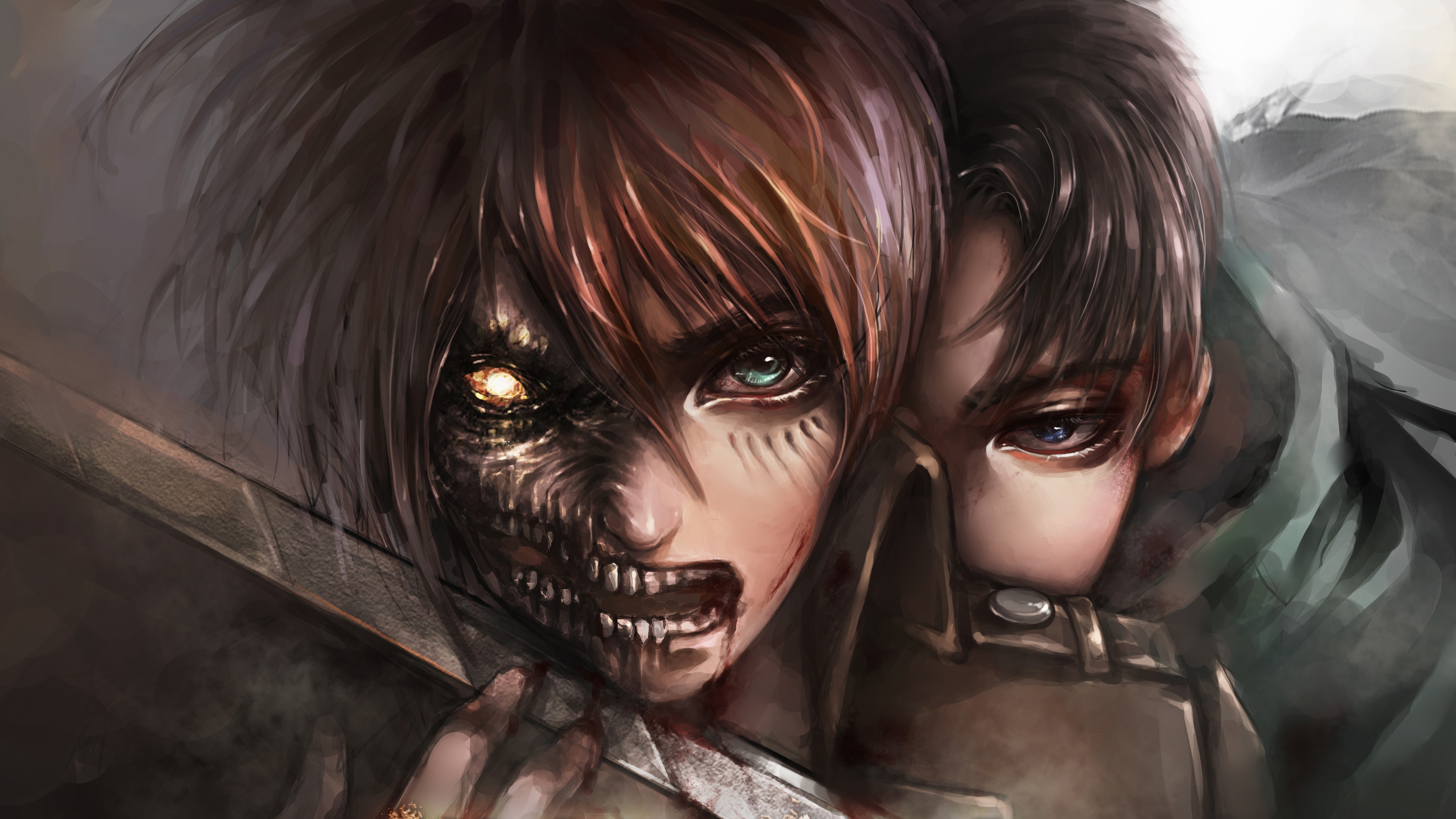 You will definitely choose from a huge number of pictures that option. Attack On Titan 4k Ultra HD Wallpaper | Background Image ...