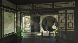 tatami anime japanese traditional background wallpapers