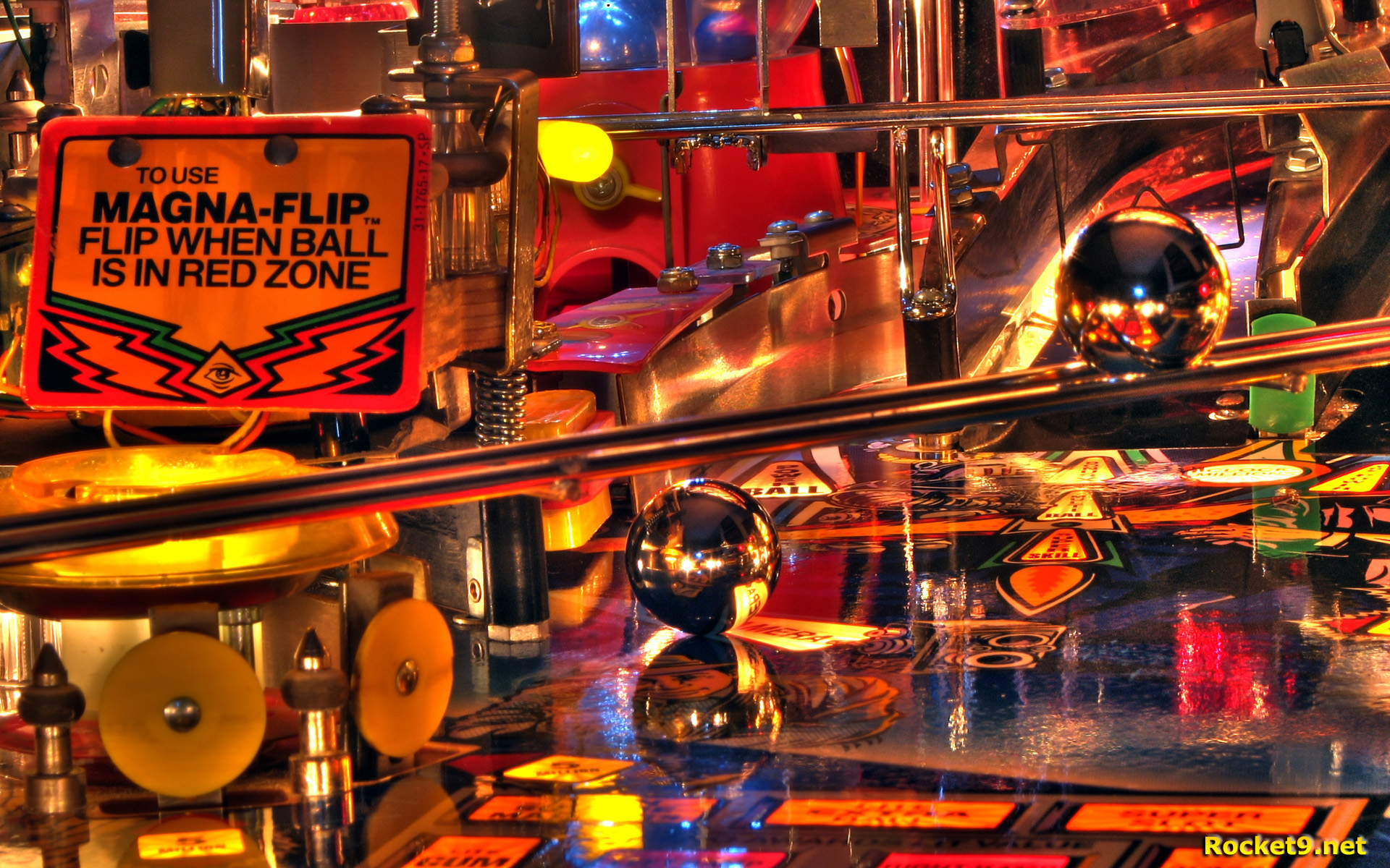 Iphone X Inside View Wallpaper Twilight Zone Pinball Hdr Full Hd Wallpaper And Background