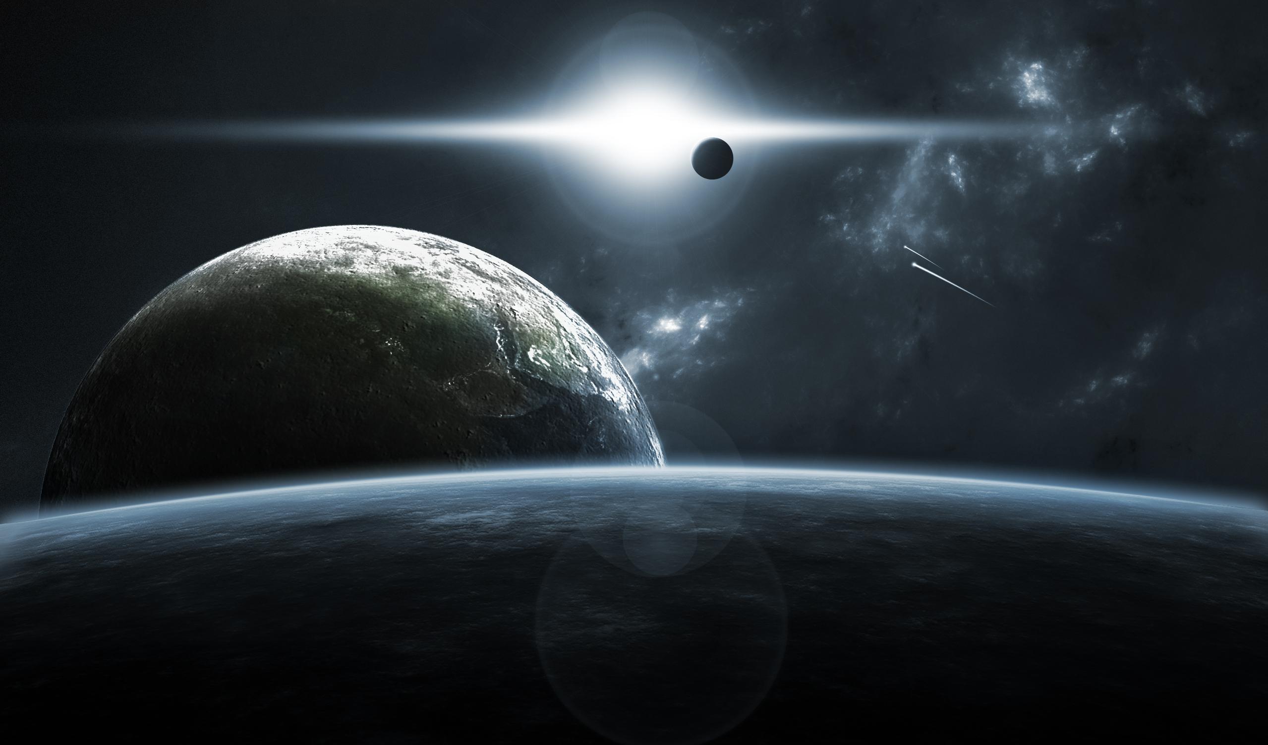 Sci Fi Wallpaper Hd 行星表面 高清壁纸 桌面背景 2558x1503 Id 112628 Wallpaper Abyss